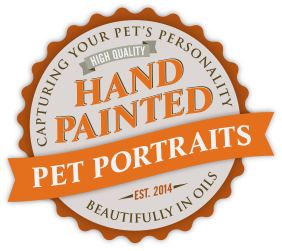 Hand Painted Pet Portraits | Capturing your pet's personality beautifully in oils