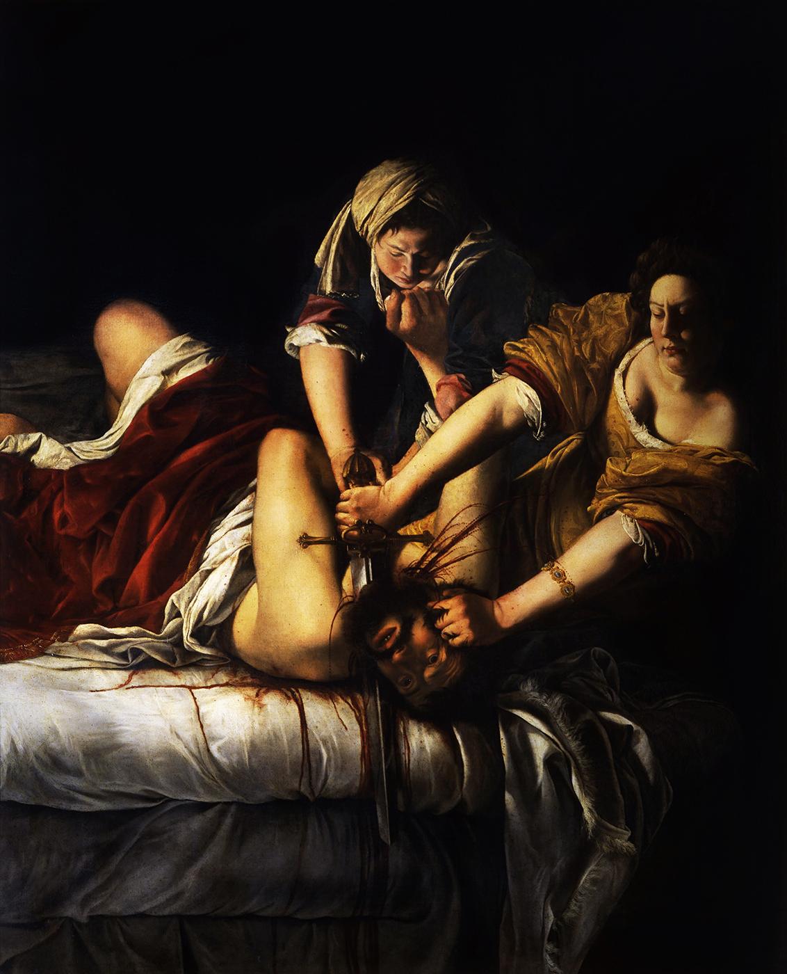 About Artemisia Gentileschi\u0027s Judith Slaying Holofernes