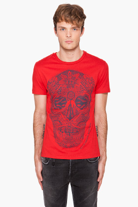 Alexander McQueen Men's Skull T-Shirt