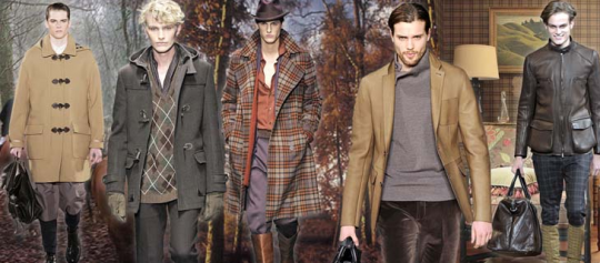 British Countryside Fall 2011 Menswear Trend
