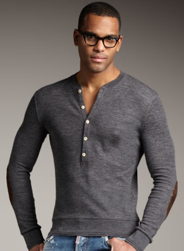 DSquared2 Men's Henley