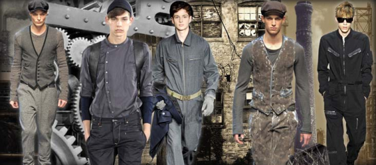 Industrial Revolution Fall 2011 Menswear Trend