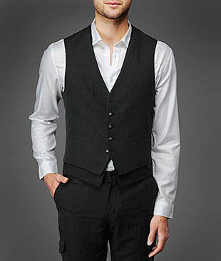John Varvatos men's vest