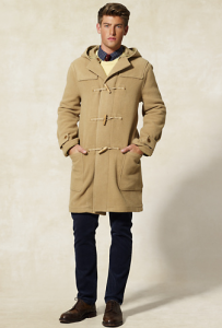 RL Rugby Men's Toggle Coat