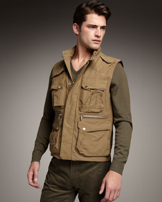 Ralph Lauren Black Label Men's Canteen Vest