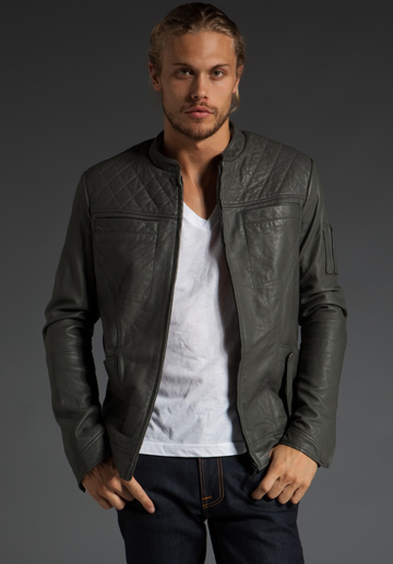 Second Sunday Shifter Men's Leather Jacket