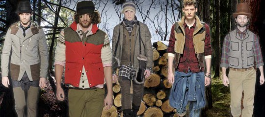 Lumberjack Fall 2011 Menswear Trend