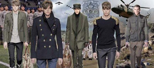 Military Fall 2011 Menswear Trend
