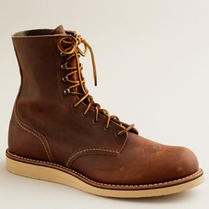 Red Wing for J. Crew Men's Work Boots
