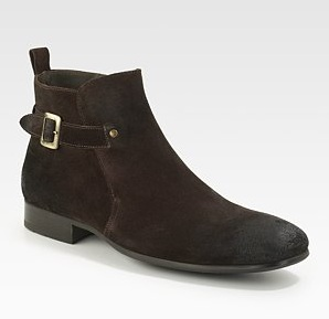 To Boot Men's Buckle Ankle Boot
