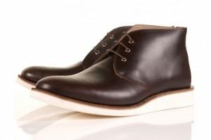 Oliver Spencer for Topman Brown Chukka Men's Boots