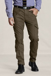 Lands' End Canvas Men's Slim Cargo Pants