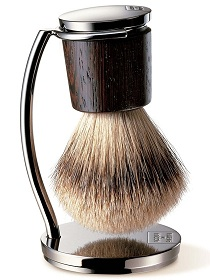 Men's Shaving Brush and Stand
