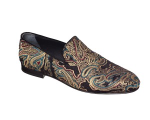 Jimmy Choo Men's Provocative Paisley Slipper