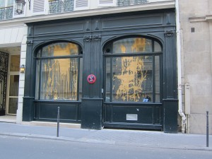 Doorway on Rue du Mont Thabor