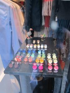 Colorful cufflinks