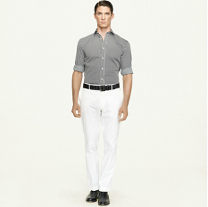 Spring 2012 Men's Style Tips: White Pants