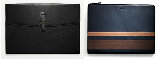 Men's Style: Leather Portfolio