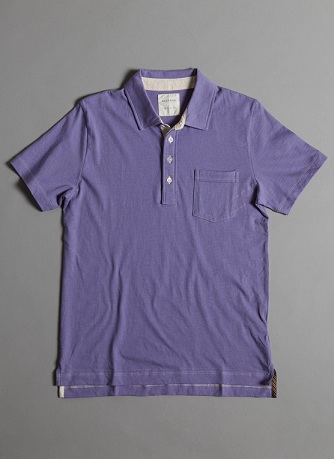 Men's Style: Billy Reid Polo Shirt