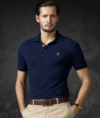 Men's Style: Ralph Lauren Purple Label Polo