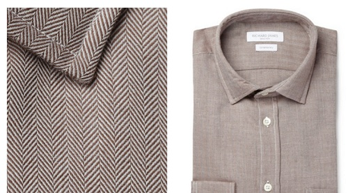 How to match your shirt to your pants: herringbone