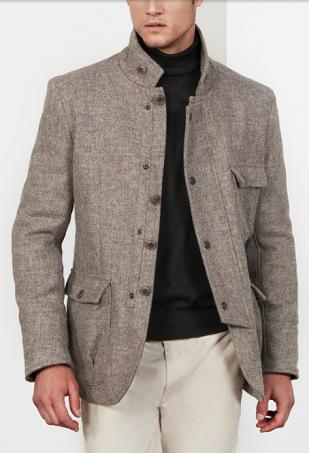 Men's Style: Biking Jacket