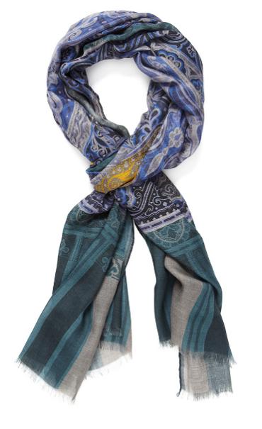 Men's Style: Etro Paisley Scarf