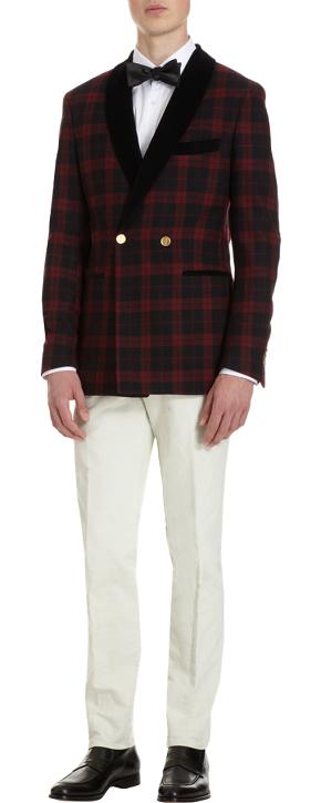 Men's Style: Michael Bastian Shawl Collar Dinner Jacket