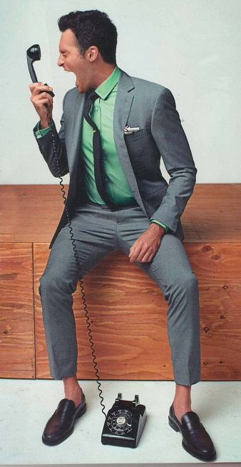 Men's Style: Colorful Dress Shirt