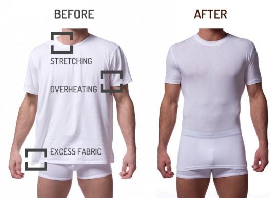 Men's Style: Tommy John Undershirts