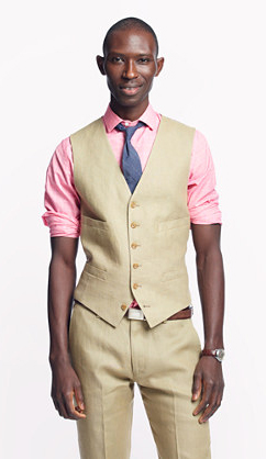 Men's Personal Shopper: Linen Vest