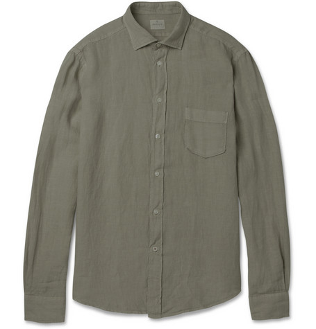 Men's Personal Stylist: Linen Shirt