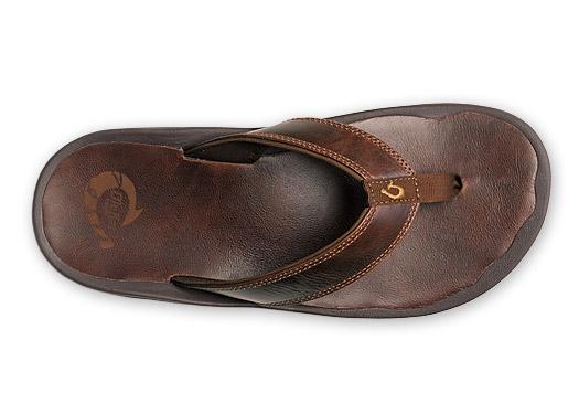 Men's Stylist: Leather Flip Flops