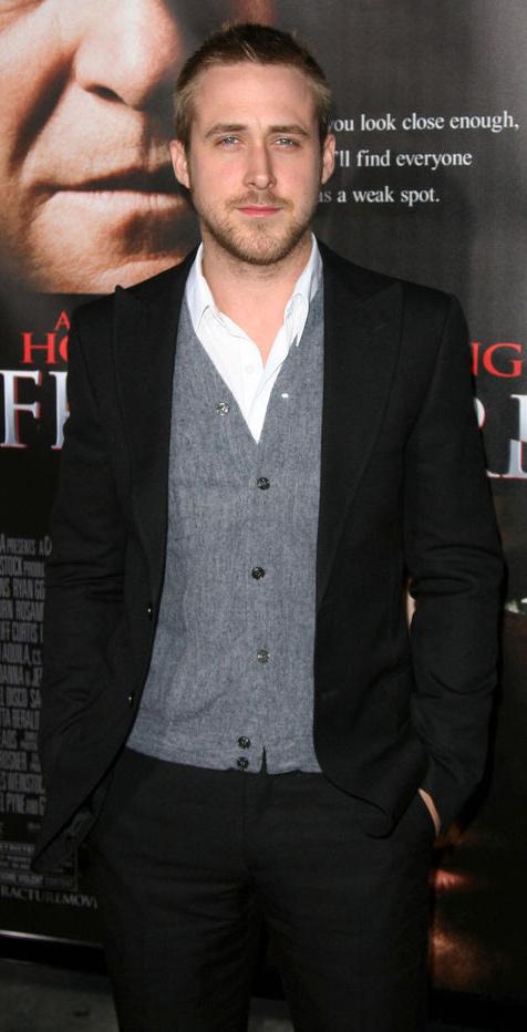 Men's Personal Stylist: Ryan Gosling's Style