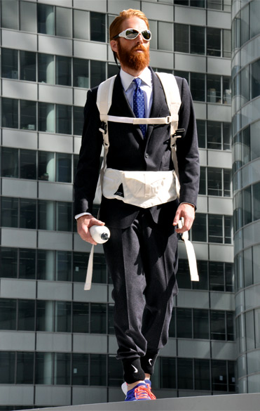 Men's Style Consultant: No Backpack with Suit