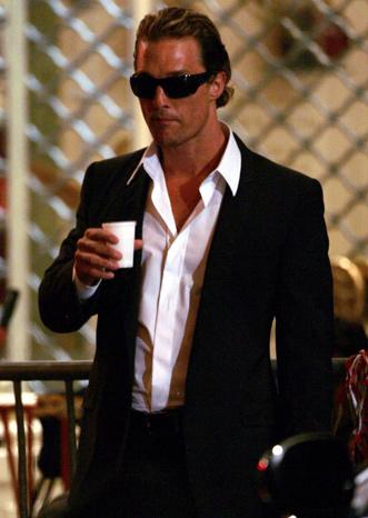 Men's Image Consulting: Matthew McConaughey