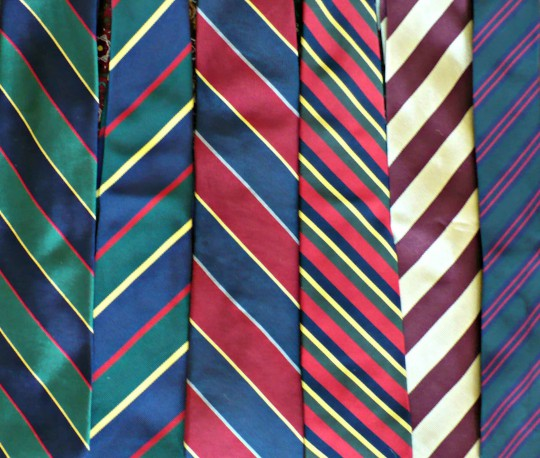 Men's Style Tips: Repp Stripe Tie