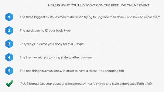 Men's Style Advice