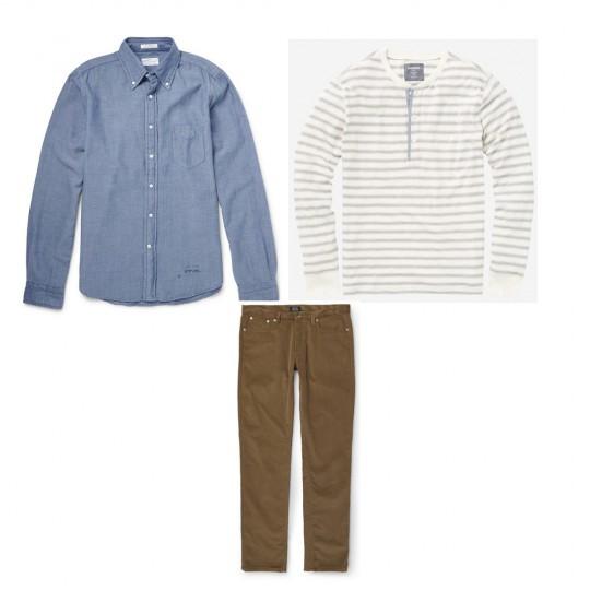 men's style tips: denim shirt