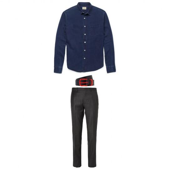 men's style advice: denim shirt