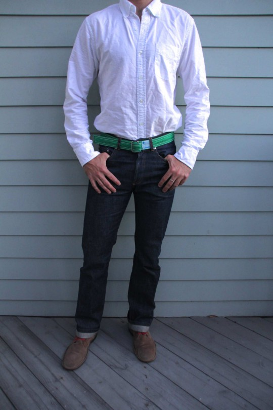 Men's Online Style Course: How to Wear a Belt