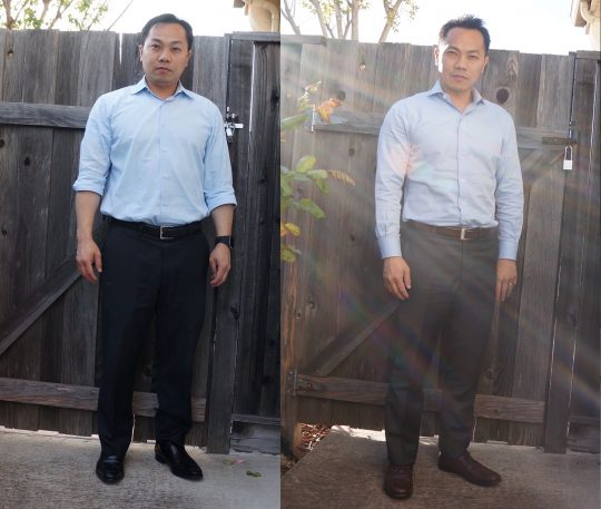 Men's Image Consulting: Before and After