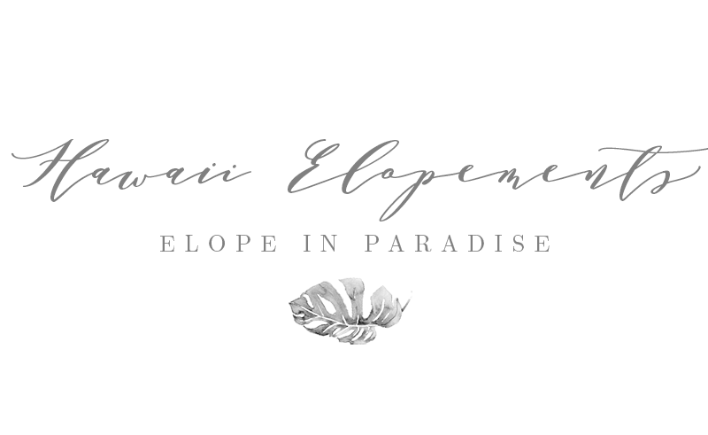 Hawaii Elopements