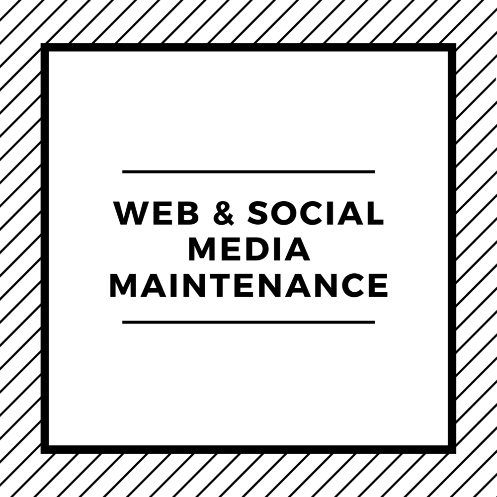 What's included: - + Current social media audit+ Social media strategy & engagement plan+ Weekly management & maintenance of 2-3 social media platforms+ One new blog post per week+ Monthly measurement & analytics reportPrice: $1500/month**minimum three month commitment