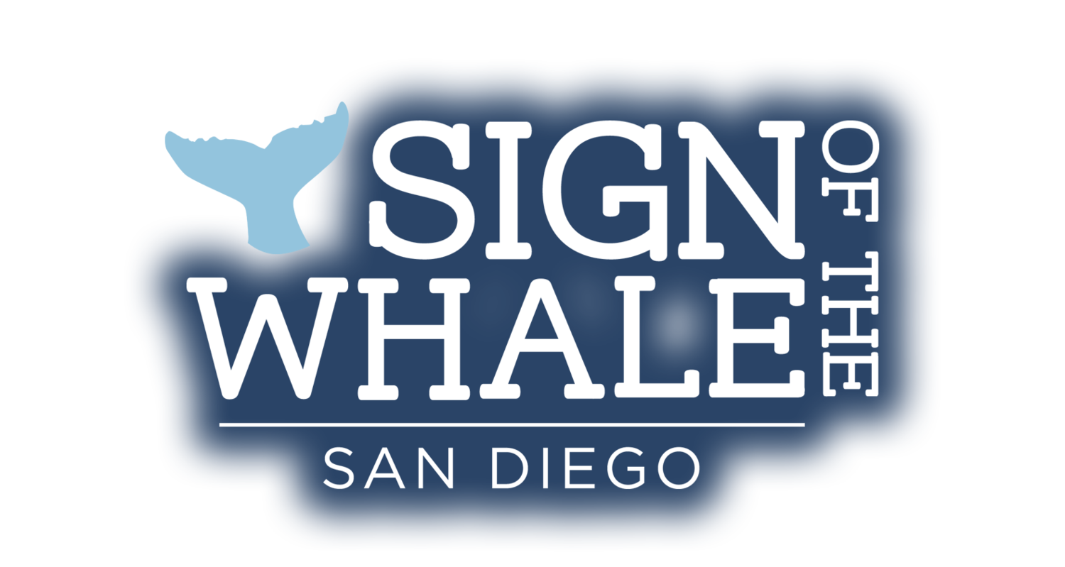 Sign of the Whale San Diego