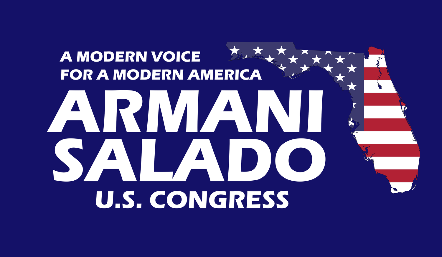 Armani Salado For U.S. Congress