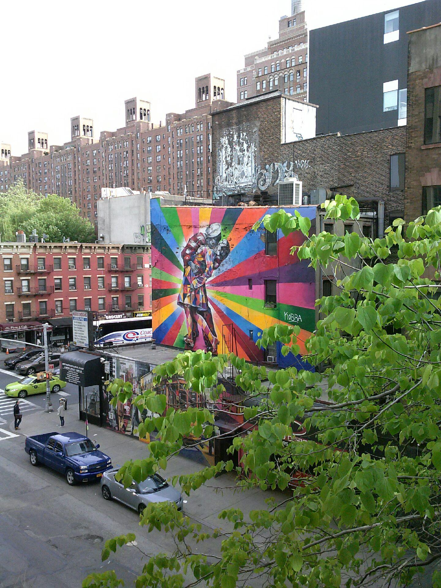 Mural from the Highline.