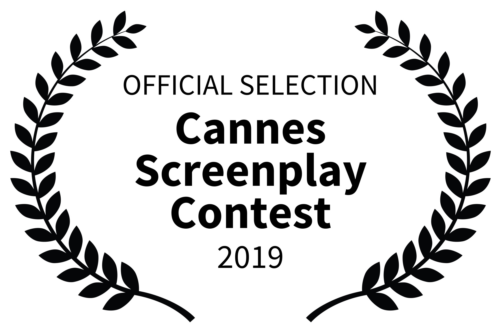 OFFICIAL SELECTION - Cannes Screenplay Contest - 2019
