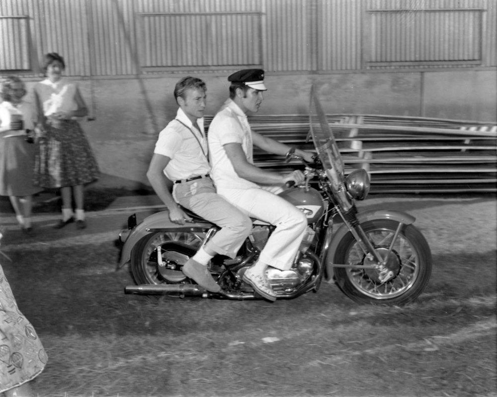 Nicks Adams, Elvis Presley