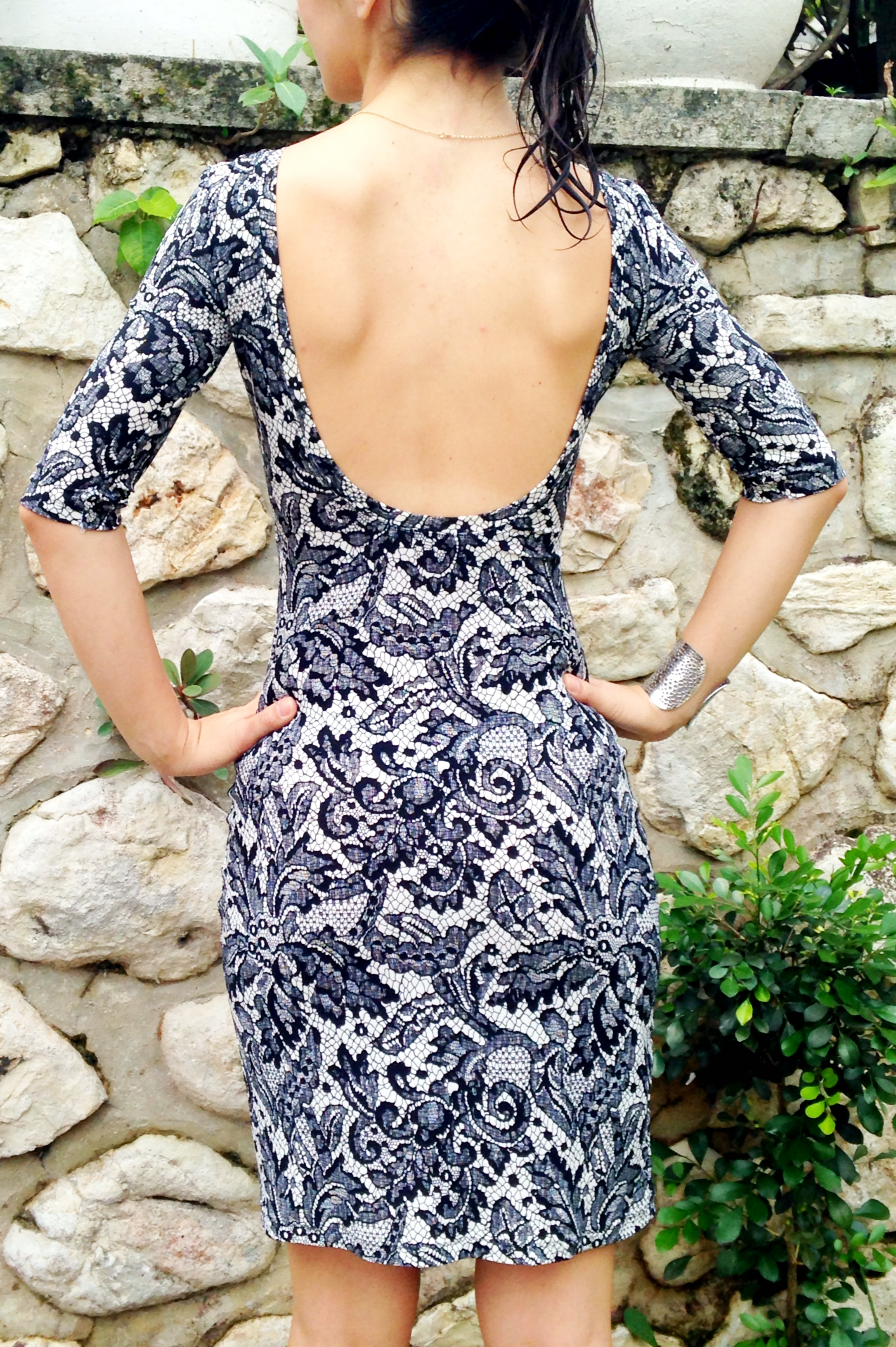 Back View - Nettie Dress